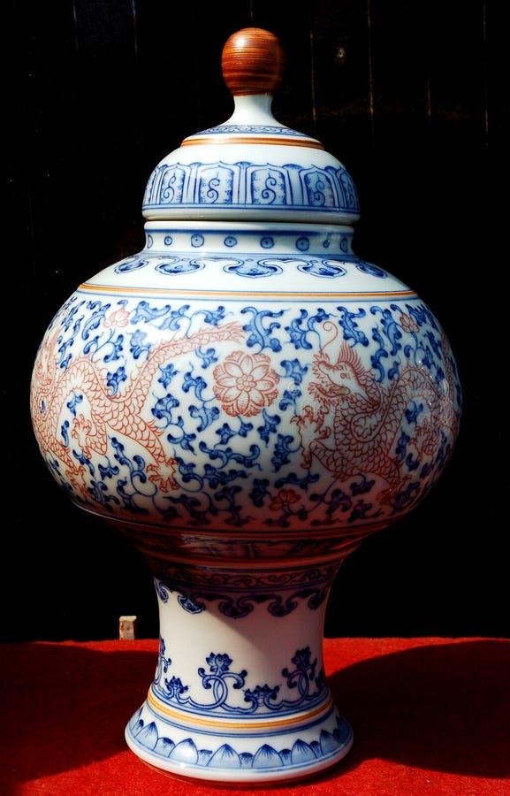 Chinesisches Porzellan lizenzfreie stockfotos