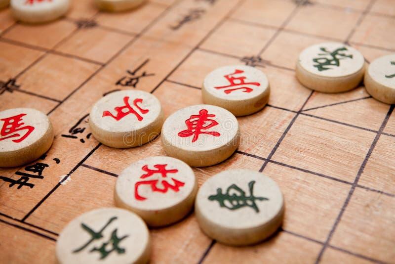 Chinesisches Schach lizenzfreie stockfotos