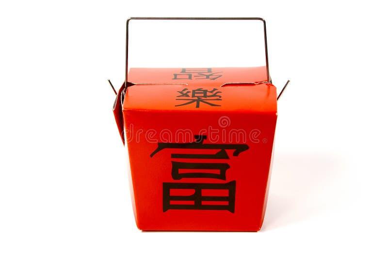 Chinesisches Takeout stockfoto