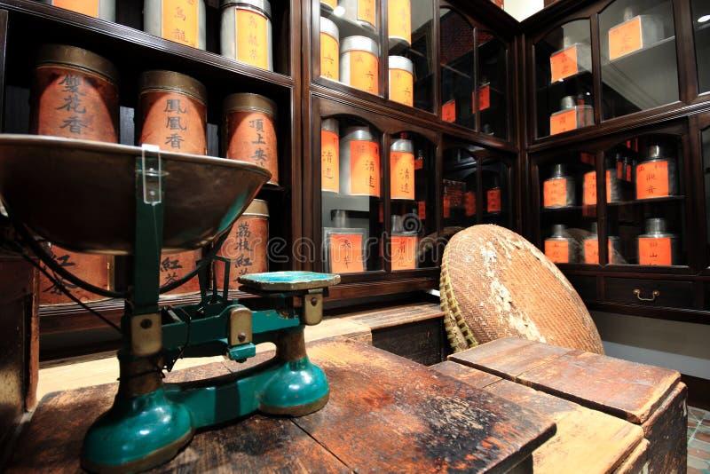 Chinesisches Teesystem lizenzfreies stockbild