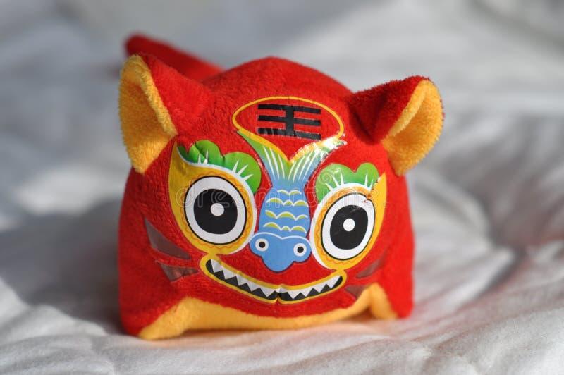 Chinesisches Tigerspielzeug stockfotos