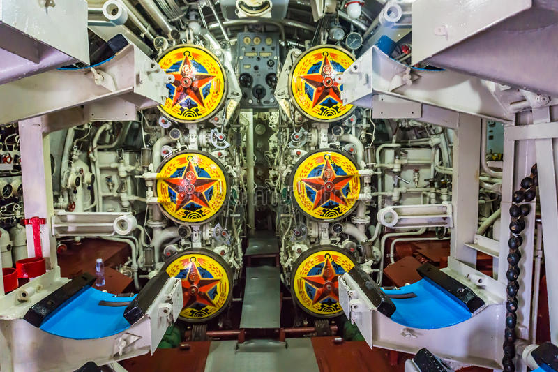 Chinesisches Unterseeboot lizenzfreie stockbilder