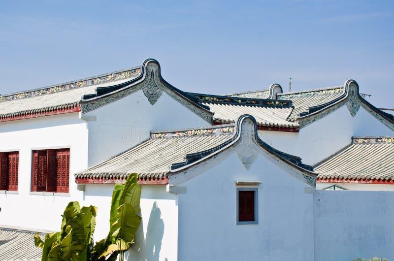 Chinesisches Volkstum von einheimischen Wohnungsgebäuden lizenzfreies stockbild