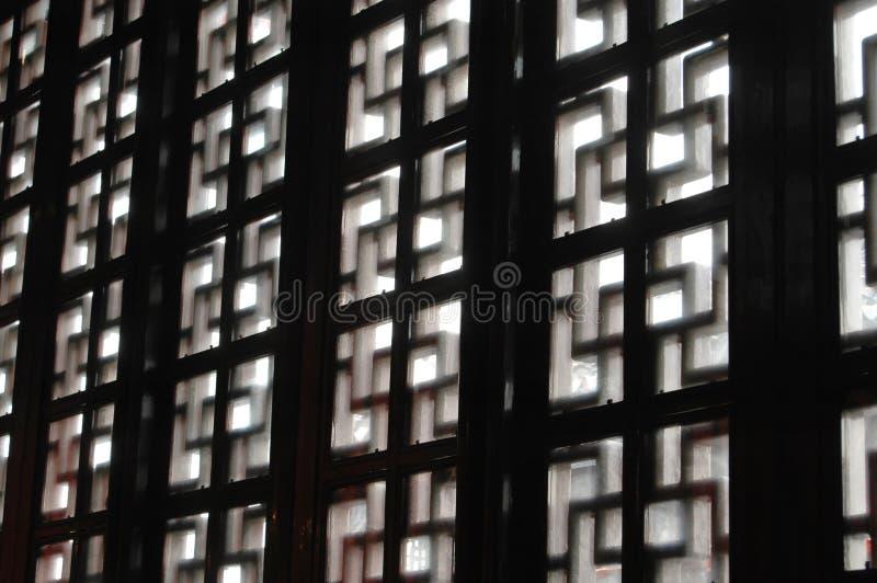 Chinesisches Windows stockfotografie
