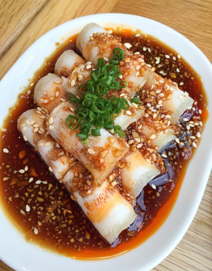 Chinesse食物样式 库存照片