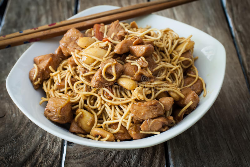 Chinesse食物 库存照片