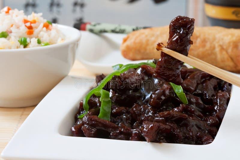 chinesse食物 免版税图库摄影