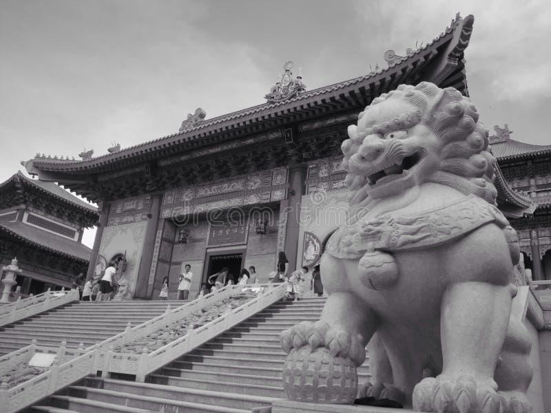 Chinesse świątynia obraz stock