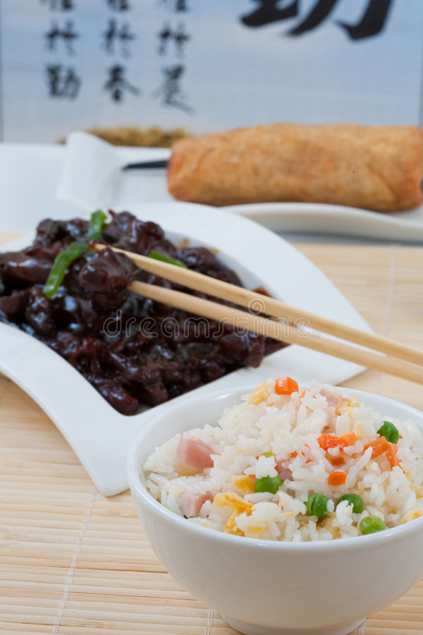 Chinesse food royalty free stock photography
