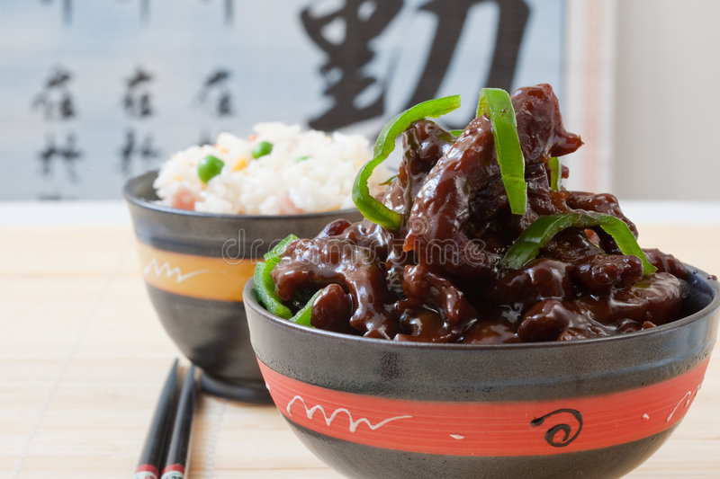 Chinesse food stock image