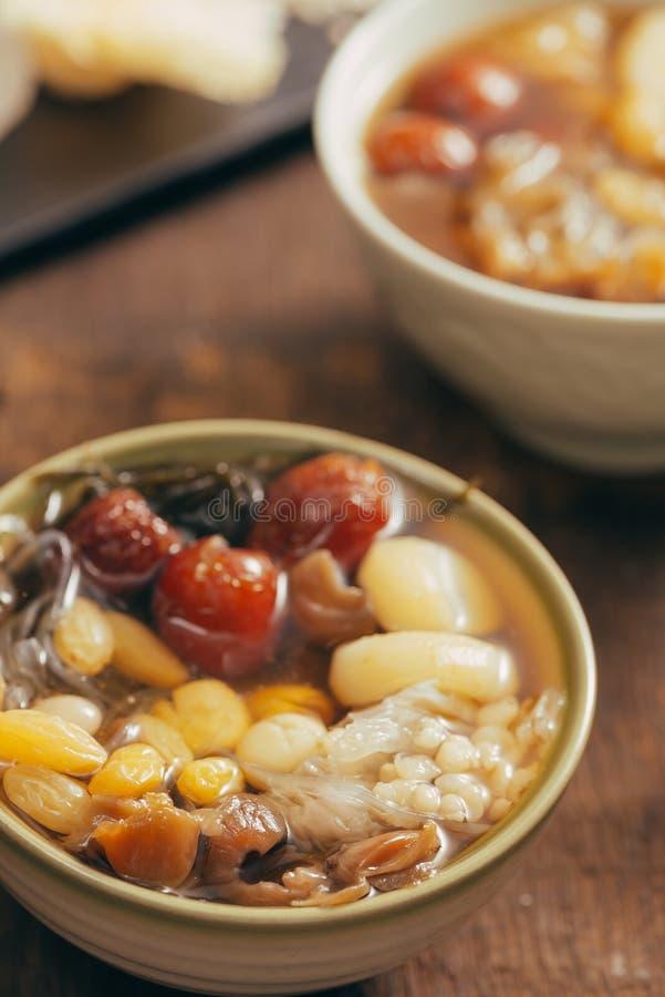 Ching bo leung - azjatykci słodki deser może znajdujący łatwo zdjęcie stock