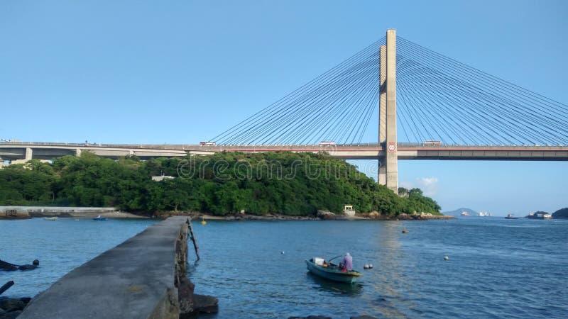 Ching Ma most w Hong Kong zdjęcia stock