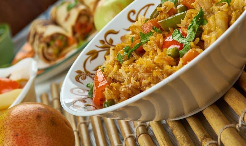 Ching ` s Schezwan Fried Rice Masala stock fotografie