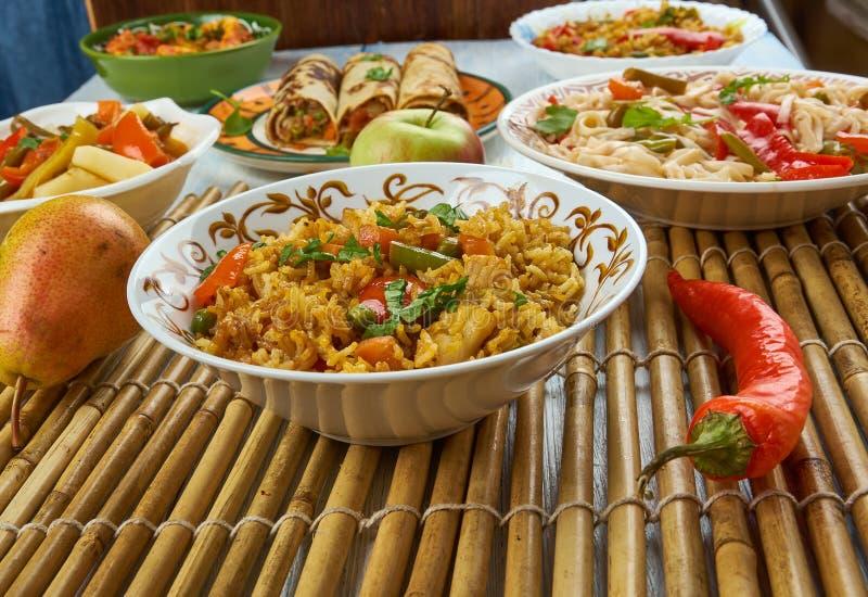Ching ` s Schezwan Fried Rice Masala stock foto