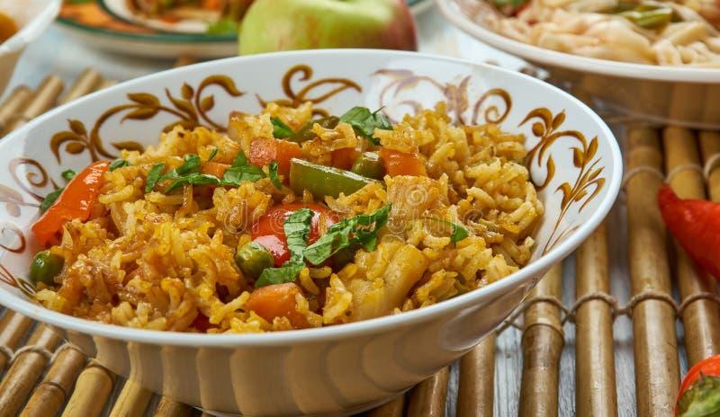 Ching ` s Schezwan Fried Rice Masala stock foto's