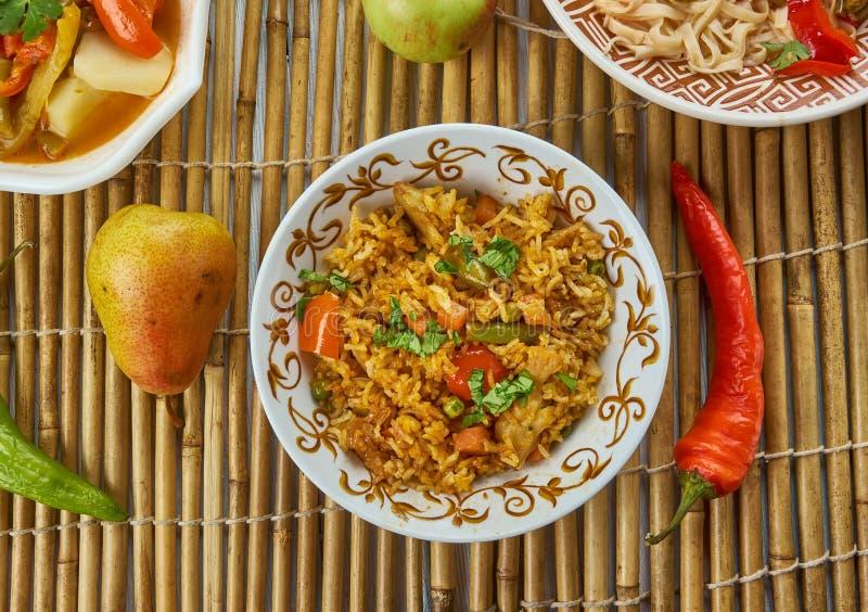 Ching ` s Schezwan Fried Rice Masala royalty-vrije stock foto's