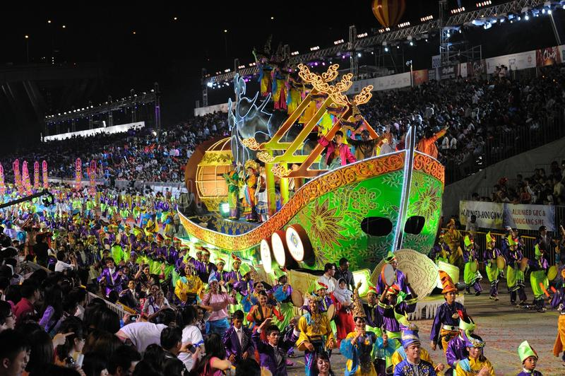 chingay παρέλαση Σινγκαπούρη το στοκ εικόνα