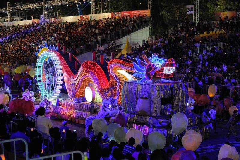 chingay παρέλαση Σινγκαπούρη το στοκ φωτογραφία με δικαίωμα ελεύθερης χρήσης