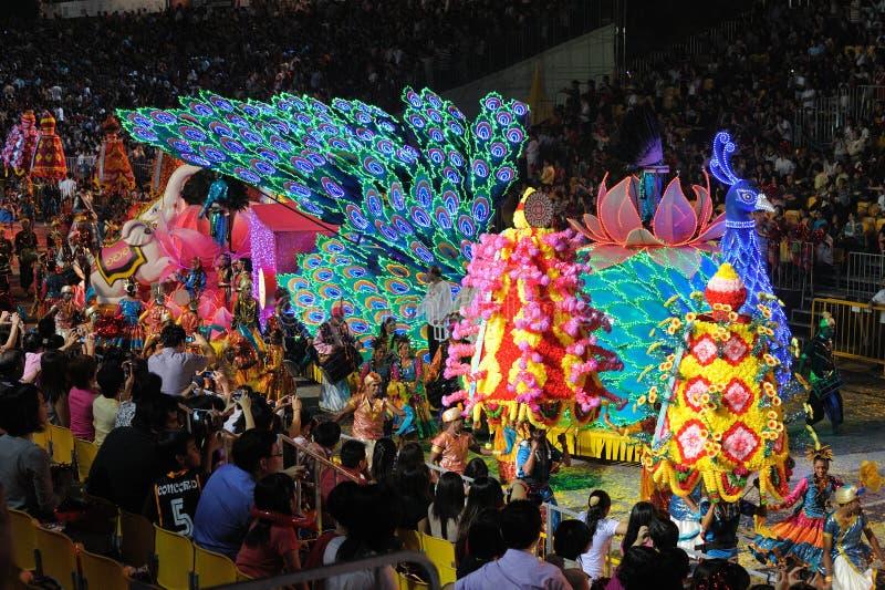Chingay 2011 Parade Singapur stockfotos