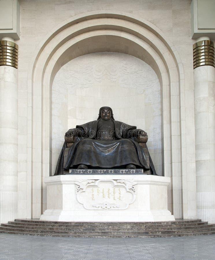 Chinggis Khan Statue foto de stock royalty free