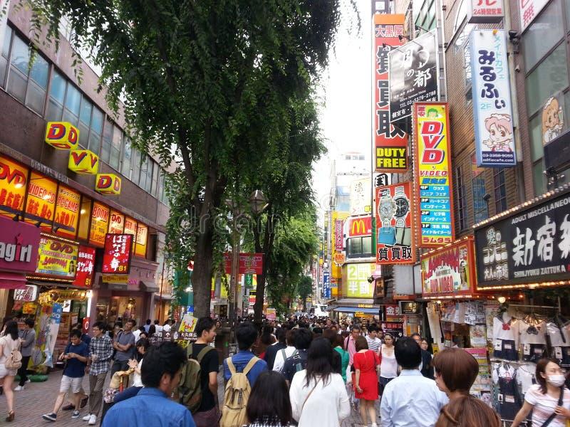 Chinjuku Japan stock foto's