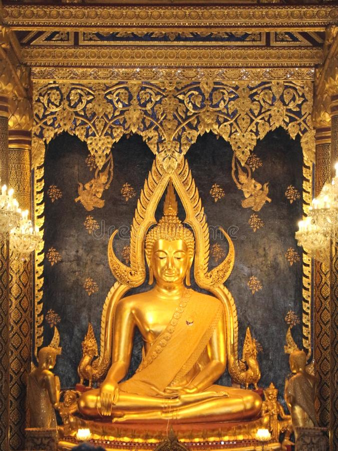 Chinnarat phuttha Phra стоковое фото