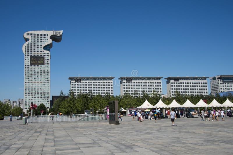 Download Chino Asiático, Pekín, Arquitectura Moderna, Plaza De Pangu, Fotografía editorial - Imagen de residencia, señal: 42432602