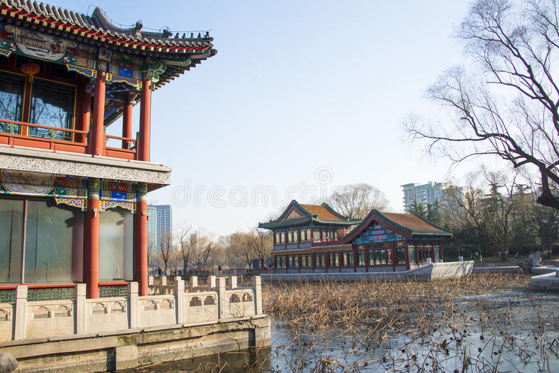 Download Chino De Asia, Parque De Pekín, Lago Longtan, Edificio Del Jardín Fotografía editorial - Imagen de terrazas, pasillos: 64203792