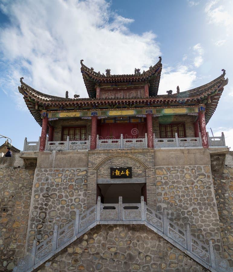 Chino de la montaña de Gansu Kongtong foto de archivo