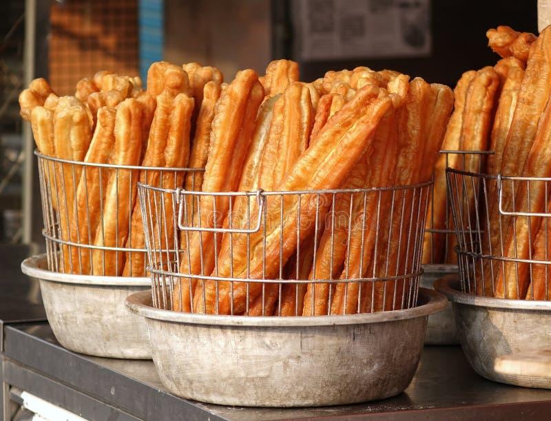 Chino Fried Dough Sticks imagen de archivo libre de regalías