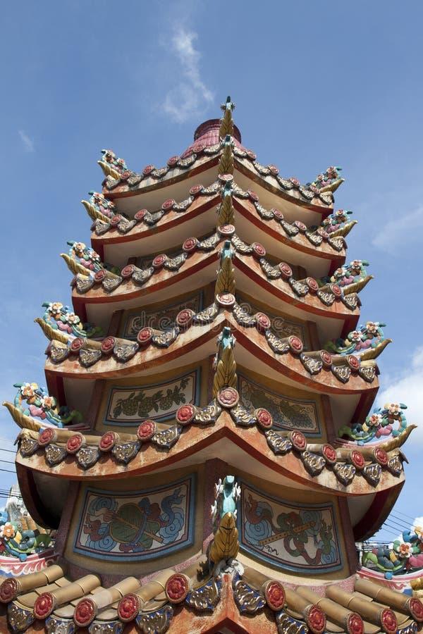 Chino-horno en templo foto de archivo
