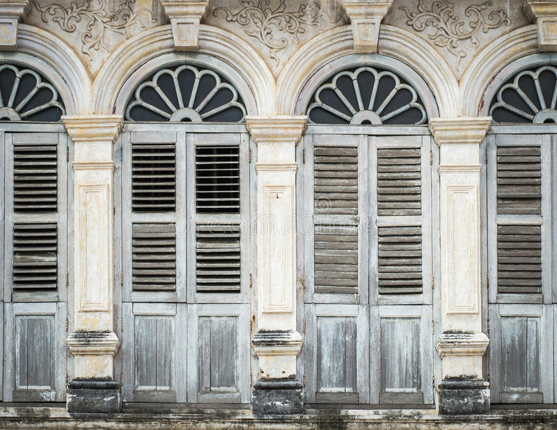Download Chino Portuguese Style Architecture Stock Image - Image of stucco, dirty: 39511945