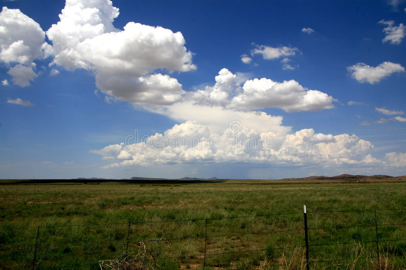 Chino Valley Landscape stock image