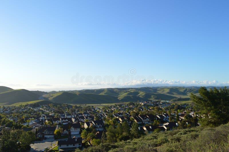 Chino wzgórza Kalifornia obrazy royalty free