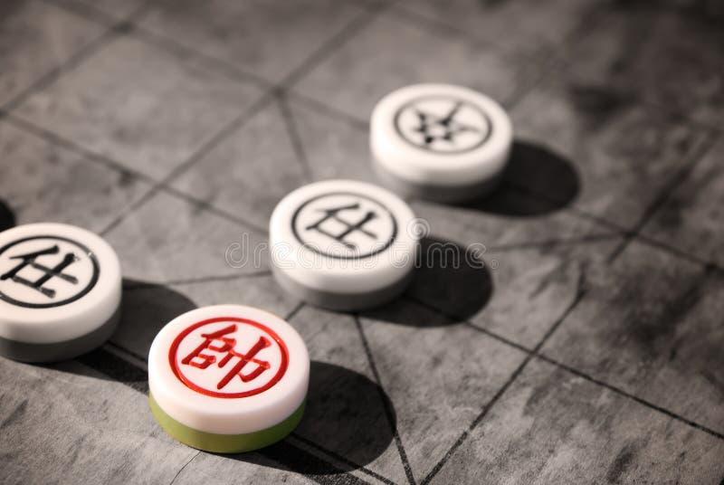 Chinois d'échecs images stock