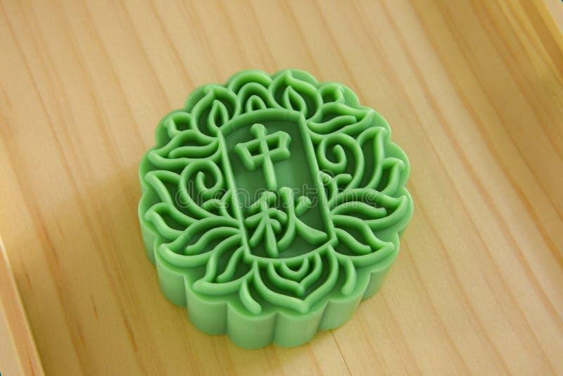 Chinois, festival, réunion, festival de Mi-automne, forme de gâteau de lune, savon images stock