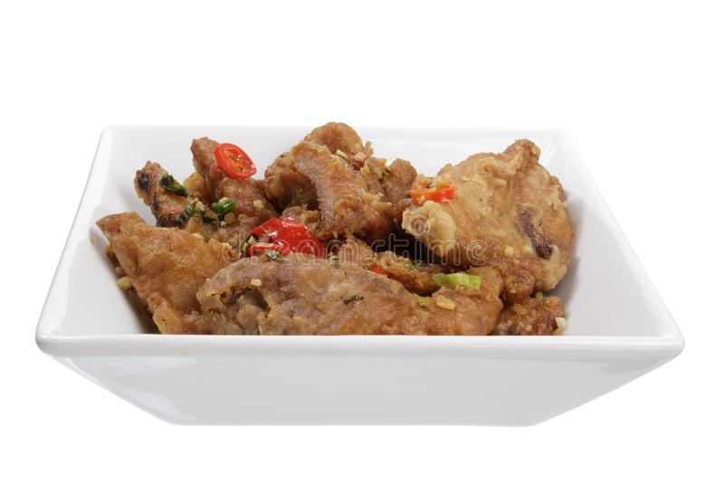 Chinois Fried Spare Ribs photo libre de droits