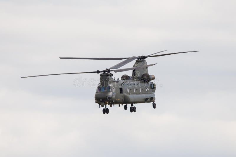 Chinook Boeing-CH-47 lizenzfreie stockfotos