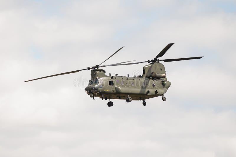 Chinook Boeing-CH-47 lizenzfreies stockbild
