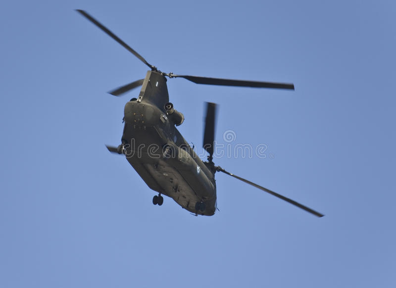Chinook Ch-47 Military Helicopter Stock Images