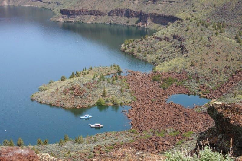 Chinook del Billy del lago immagini stock