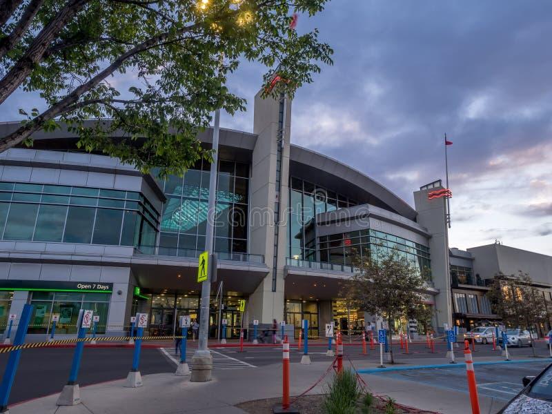 Chinook-Mitteeinkaufszentrum lizenzfreie stockfotografie