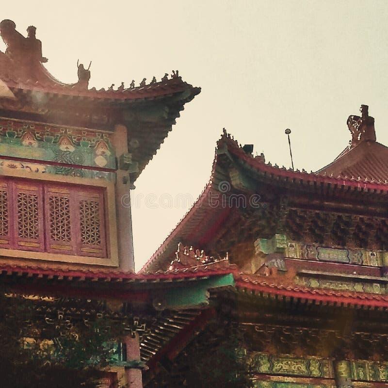 Chiny Świątynni fotografia stock
