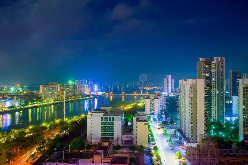 Chiny, Azja Wschodnia -, miasto, pejzaż miejski, prowincja guangdong, fotografia royalty free