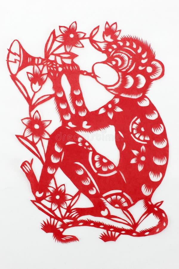 Chiny ciie papier ręką obrazy royalty free