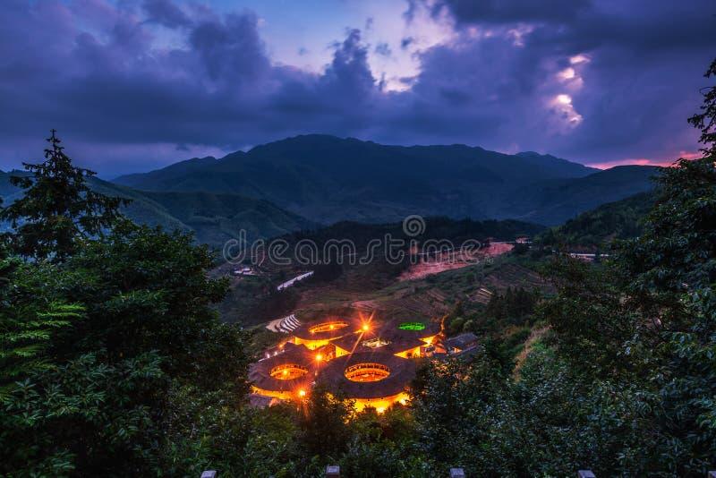 Chiny Fujian tulou fotografia royalty free