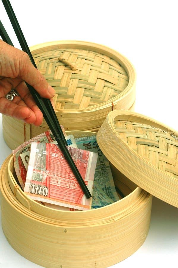 chiny globalizacji w Hong kongu fotografia stock