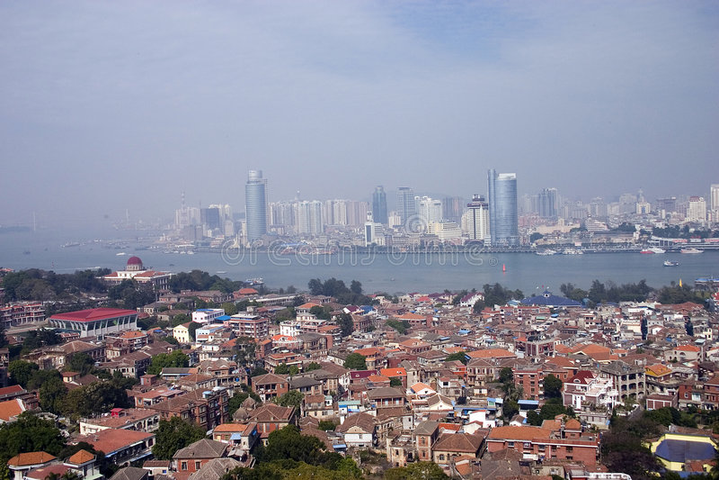 chiny miasta obrazy royalty free