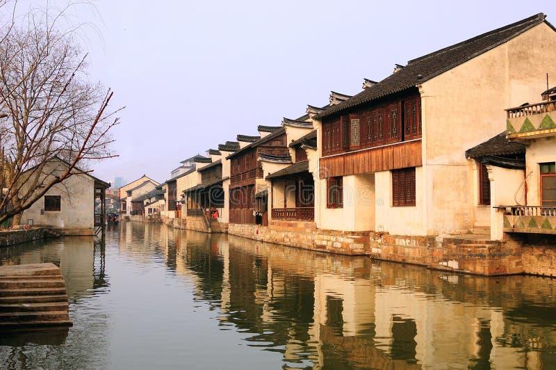 Chiny Południowe Wioski krajobrazy zdjęcie stock