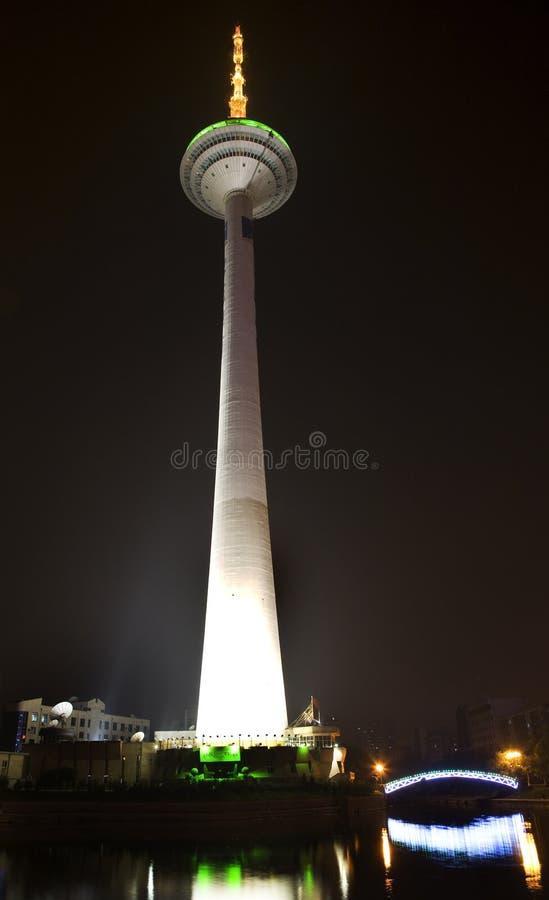 chiny prowincja Liaoning Shenyang wieży tv fotografia royalty free